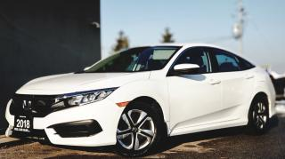 Used 2018 Honda Civic LX | CERTIFIED BACK-UP CAM | HEATED SEATS | BLUETOOTH for sale in Mississauga, ON