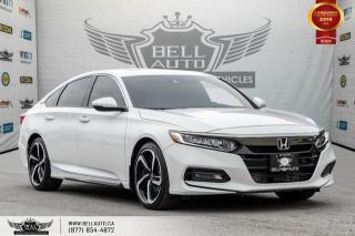 Used 2018 Honda Accord Sedan Sport 2.0, NO ACCIDENT, REAR CAM, B.SPOT CAM, LANE ASST for sale in Toronto, ON