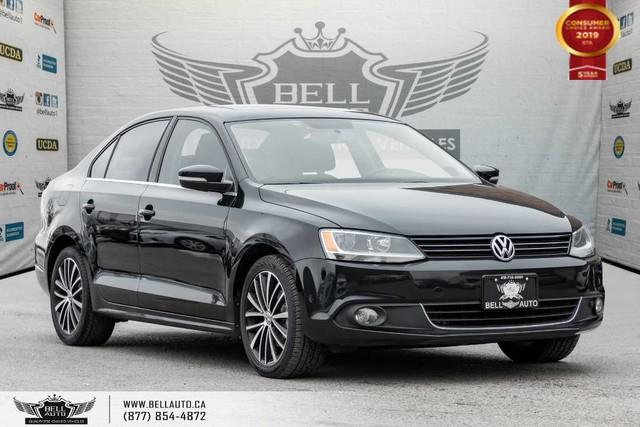 2014 Volkswagen Jetta Sedan Highline, NO ACCIDENT, DIESEL, SUNROOF, LEATHER