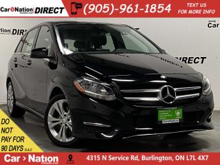 Used 2016 Mercedes-Benz B-Class B250 4MATIC  LEATHER  HEATED SEATS  for sale in Burlington, ON