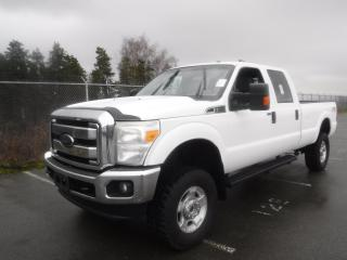 Used 2014 Ford F-250 SD XLT Crew Cab Long Bed 4WD for sale in Burnaby, BC