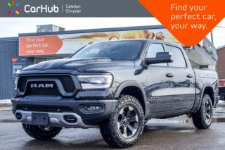 New 2020 RAM 1500 New Truck|Rebel 4x4|Diesel|RamBox|Navi|Pano Sunroof|Bluetooth|R-Start|Backup Cam|Leather|18