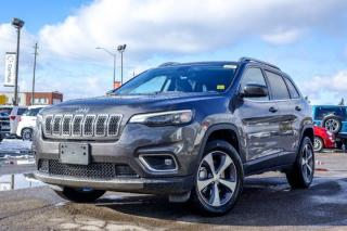New 2020 Jeep Cherokee New Car Limited|4x4|Bluetooth|Backup Cam|Blind Spot|Leather|Heated Front Seats|R-Start|18