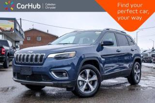 New 2020 Jeep Cherokee New Limited 4x4 Bluetooth Backup Camera Blind Spot Leather Adaptive Cruise Contro R Start 18