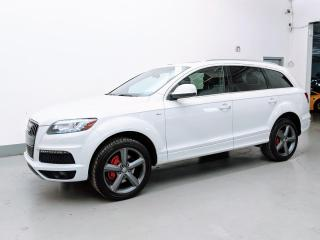 Used 2015 Audi Q7 S SLINE/DIESEL/NAV/7PASS/HEATED STEERING/PUSH START! for sale in Toronto, ON