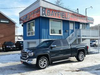Used 2017 GMC Sierra 1500 SLT Double Cab 4x4 **Leather/5.3L V8/Only 32k!!** for sale in Barrie, ON