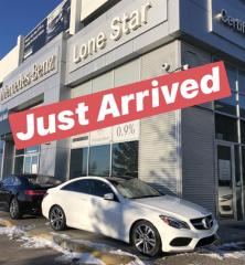Used 2016 Mercedes-Benz E-Class E400 4MATIC Coupe for sale in Calgary, AB