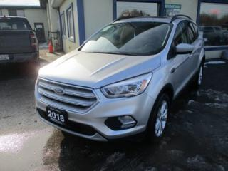 Used 2018 Ford Escape FOUR-WHEEL DRIVE SEL EDITION 5 PASSENGER 1.5L - ECO-BOOST.. NAVIGATION.. LEATHER.. HEATED SEATS.. PANORAMIC SUNROOF.. BACK-UP CAMERA.. for sale in Bradford, ON