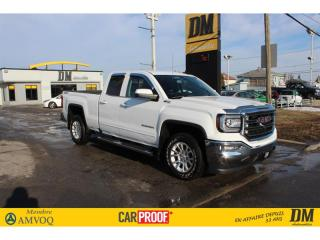 Used 2018 GMC Sierra 1500 SLE Z71 QUAD 4X4  NAV   CAMÉRA   APPLE/ANDROID for sale in Salaberry-de-Valleyfield, QC