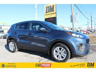 Used 2017 Kia Sportage LX SIÈGES CHAUFFANTS CAMÉRA DE RECUL BLUETOOTH for sale in Salaberry-de-Valleyfield, QC