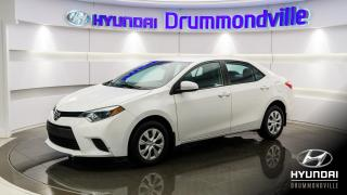 Used 2015 Toyota Corolla CE + A/C + BLUETOOTH + GR. ELECTRIQUE + for sale in Drummondville, QC