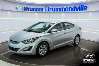 Used 2014 Hyundai Elantra L + 55 935 KM + GR. ELECTRIQUE + WOW !! for sale in Drummondville, QC