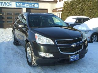 Used 2010 Chevrolet Traverse LT, FWD for sale in Beaverton, ON