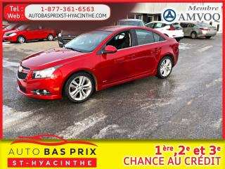 Used 2011 Chevrolet Cruze LT Turbo avec 1SB for sale in St-Hyacinthe, QC