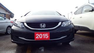 Used 2015 Honda Civic EX for sale in Brampton, ON