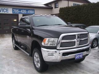 Used 2016 RAM 2500 SLT, Crew, 4x4, Diesel for sale in Beaverton, ON