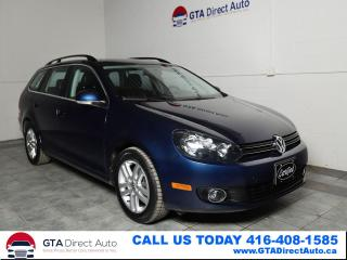 Used 2011 Volkswagen Golf Wagon Highline TDI Panoroof Leather Heated DSG Certified for sale in Toronto, ON