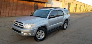 Used 2004 Toyota 4Runner SR5 | SPORT | TOW PACKAGE | CERTIFIED for sale in Burlington, ON