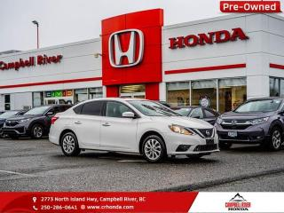 Used 2016 Nissan Sentra SV - Bluetooth - Heated Seats for sale in Campbell River, BC