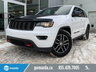 Used 2017 Jeep Grand Cherokee TRAILHAWK 4X4 V6 LEATHER NAV OFF-ROAD BEAST for sale in Edmonton, AB