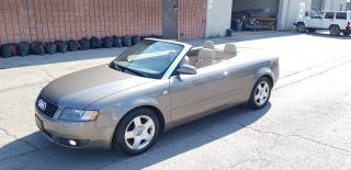 Used 2004 Audi A4 1.8T | CONVERTIBLE | CLEAN | LOW KMS for sale in Burlington, ON