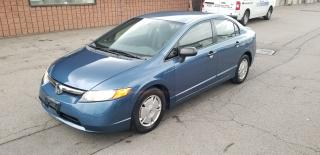 Used 2008 Honda Civic Sdn DX-G | LOW K | CERTIFIED for sale in Burlington, ON