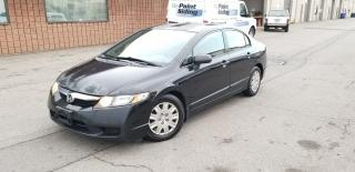 Used 2009 Honda Civic Sdn DX | CERTIFIED | NO ACCIDENTS for sale in Burlington, ON