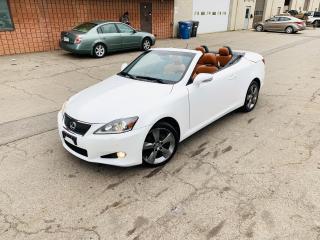 Used 2011 Lexus IS 250 C PREMIUM   CONVERTIBLE for sale in Burlington, ON