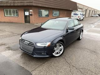 Used 2013 Audi A4 PREMIUM PLUS | NAVIGATION | QUATTRO | CERTIFIED | for sale in Burlington, ON