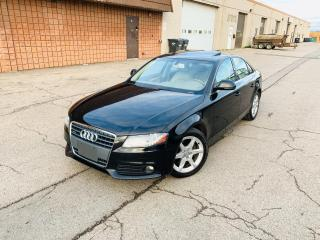 Used 2009 Audi A4 QUATTRO | CERTIFIED | LOW KM for sale in Burlington, ON