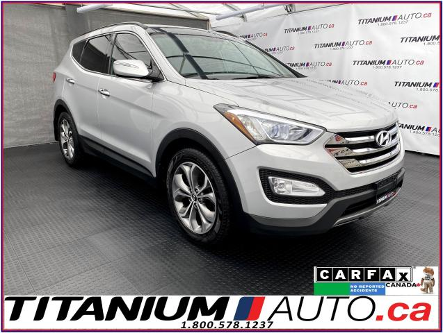2014 Hyundai Santa Fe Sport Limited+AWD+GPS+Camera+Pano+Cooled Leather+BSM+