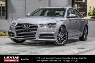 Used 2016 Audi A6 3.0 Technik S-Line Quattro Modele S-Line,Camera 360,Bose,Mag 20' 333HP for sale in Lachine, QC