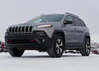 Used 2016 Jeep Cherokee TRAILHAWK / 4WD / JAMAIS ACCIDENTE! for sale in St-Georges, QC