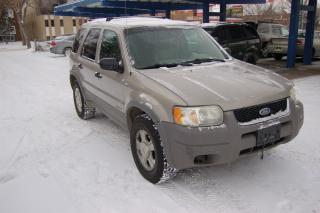 Used 2001 Ford Escape XLT for sale in Edmonton, AB