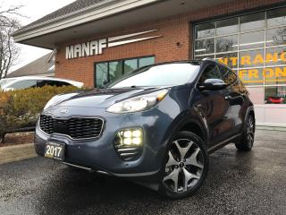 Used 2017 Kia Sportage SX TURBO for sale in Concord, ON