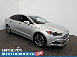 Used 2018 Ford Fusion Energi SE NAVIGATION - AIR CLIMATISÉ - Sièges Chauffants for sale in Laval, QC