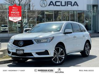 Used 2020 Acura MDX Tech for sale in Markham, ON
