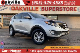 Used 2013 Kia Sportage LX | RARE MANUAL | BLUETOOTH | HTD SEATS for sale in Oakville, ON