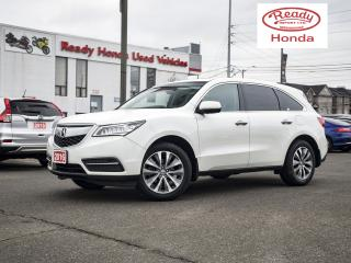 Used 2016 Acura MDX Tech Pkg - Leather -Navigation - Sunroof for sale in Mississauga, ON