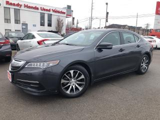 Used 2015 Acura TLX Tech - Leather - Navigation - Sunroof for sale in Mississauga, ON