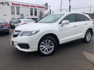 Used 2017 Acura RDX Tech Pkg - Navigation - Leather - Sunroof for sale in Mississauga, ON