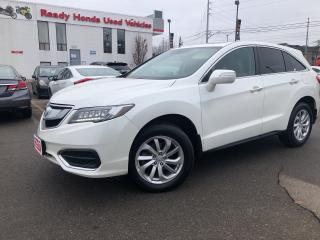 2017 Acura RDX Tech Pkg - Navigation - Leather - Sunroof