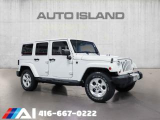 Used 2013 Jeep Wrangler Unlimited 4WD 4DR HARD TOP PAINTED for sale in North York, ON