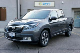 Used 2017 Honda Ridgeline TOURING RTL-E AWD, LOADED, LOW KM, CARFAX CLEAN! for sale in Burlington, ON
