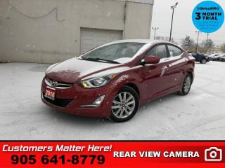 Used 2016 Hyundai Elantra SE  ROOF CAM HS BT FOG-LITES ALLOYS for sale in St. Catharines, ON