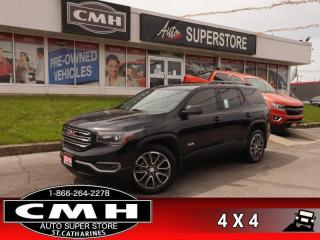 Used 2018 GMC Acadia SLT  AWD LEATH PANO P/SEATS CAM HS P/GATE for sale in St. Catharines, ON