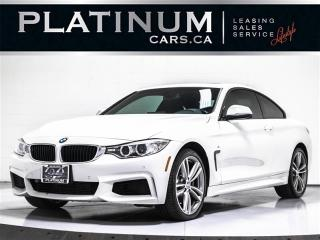 Used 2014 BMW 4 Series 435i xDRIVE, M-SPORT PKG, NAV, CAM, SUNROOF for sale in Toronto, ON