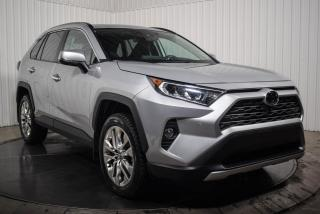 Used 2019 Toyota RAV4 LIMITED AWD CUIR TOIT NAV for sale in St-Hubert, QC