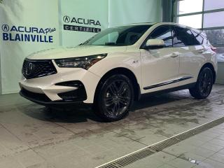 Used 2019 Acura RDX A-Spec ** BLANC INTÉRIEUR ROUGE ** for sale in Blainville, QC