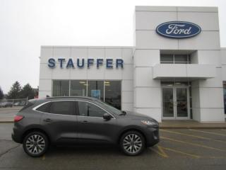 New 2020 Ford Escape Titanium Hybrid for sale in Tillsonburg, ON
